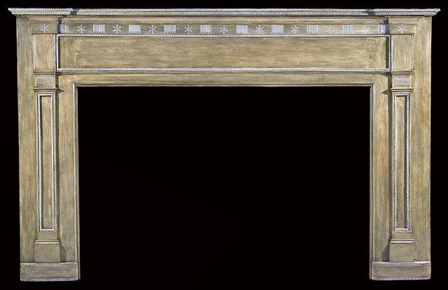 2005/1025 Hudson Valley White Pine Mantel c.1805-1820