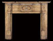 2006/1031 New England Fan Mantel c.1810-1820