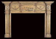 2006/1032 Philadelphia Compositon Mantel c.1805-1820