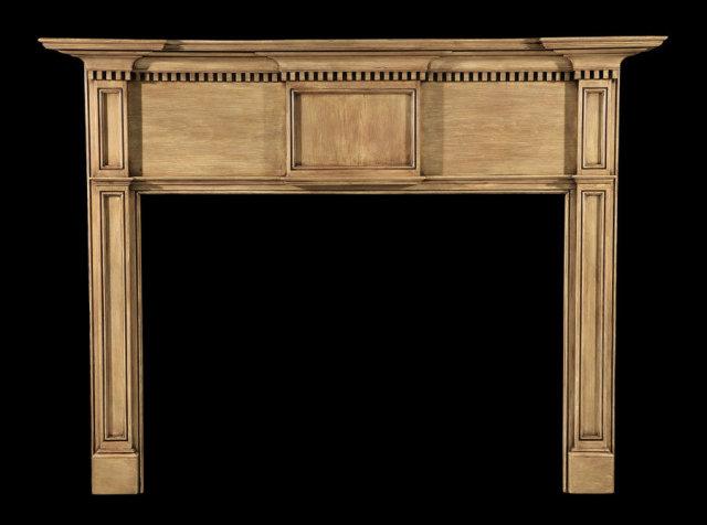 2006/1037 Federal White Pine Neoclassic Mantel c.1800-1810