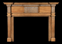 2006/1038 Delaware Valley Chip Carved Mantel c.1800-1815