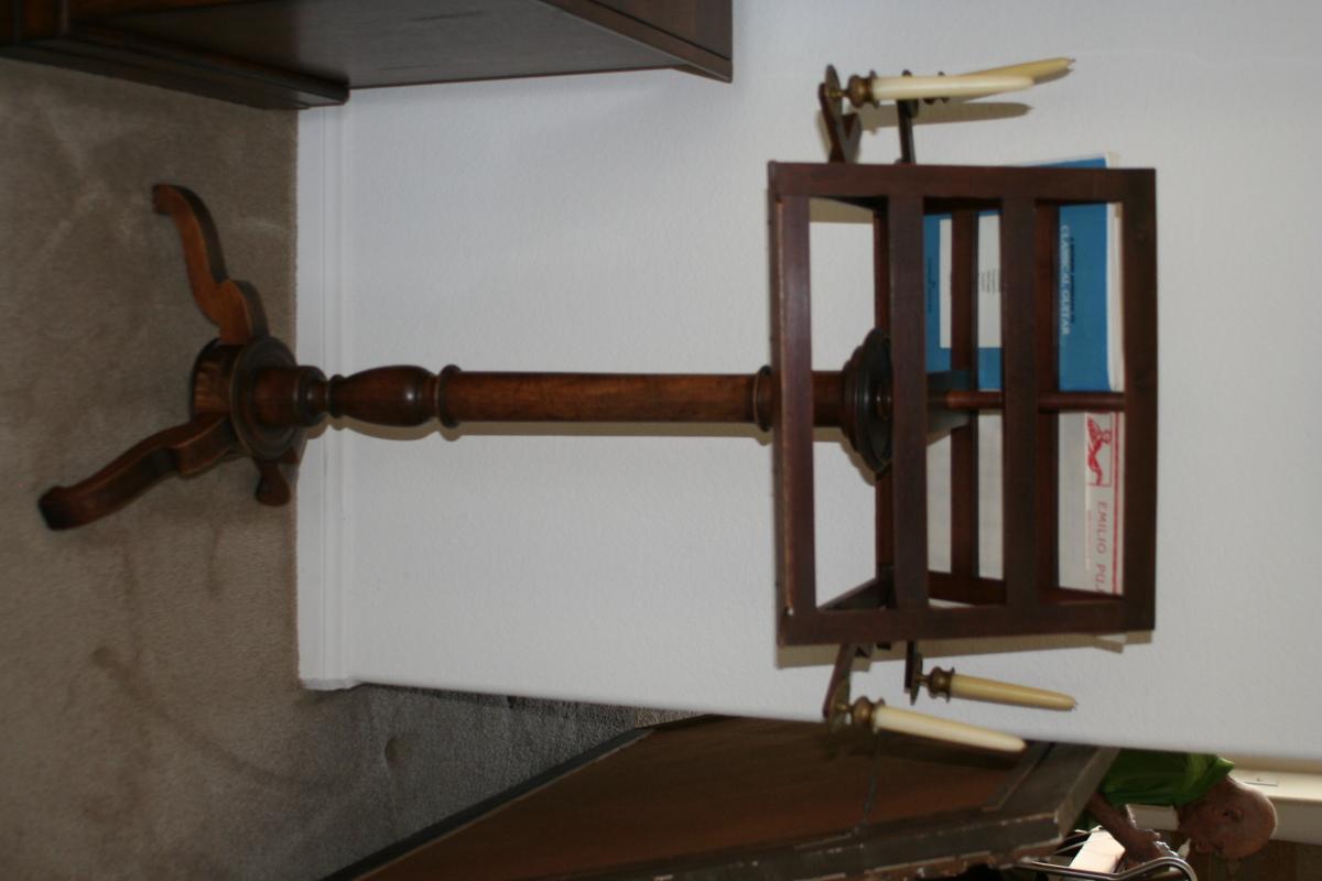 Music Stand or Lectern CA 1860 Napoleon III Period