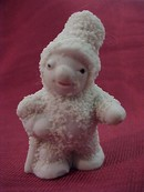 SNOW BABY with Top Hat and Cane - old