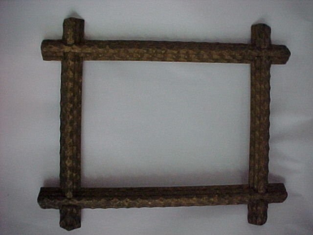 Old Tramp Art Frame!