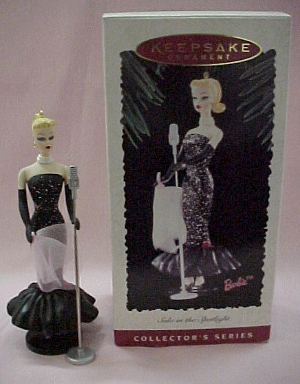 Hallmark 1995 Barbie Ornament - Solo in the Spotlight