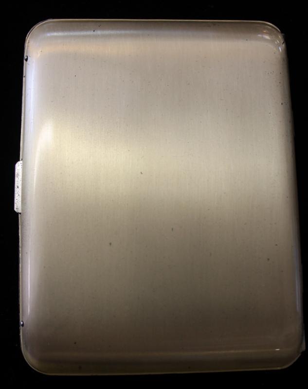 Sterling Silver  Cigarette / Card Case by Elgin