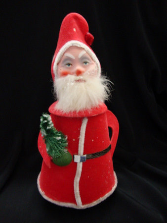 Santa Candy Container