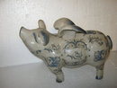 Porcelain Flying Piggy Bank-Medium