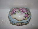 Porcelain Painted Jewelry Box
