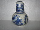 Porcelain Blue Bird Night Water Set