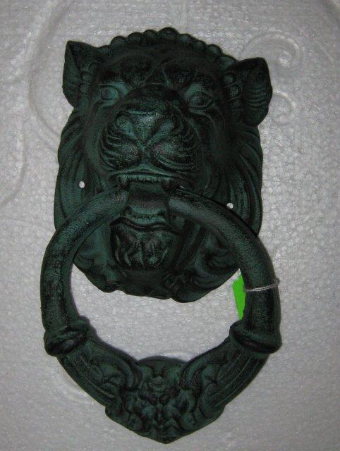 Cast Iron Lion Head Doorknocker