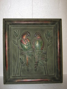 Parrot Tin Wall Hanging