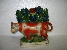 English Style Staffordshire Cow Vase