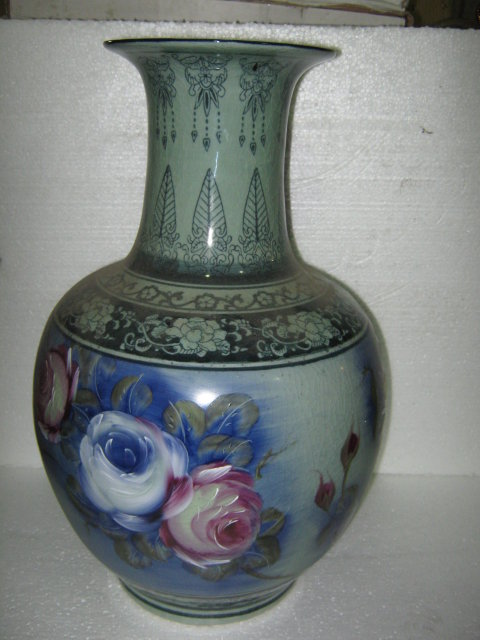 Porcelain Painted Vase