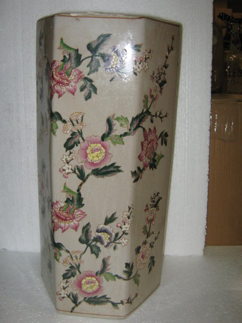 Umbrella Stand Floral Pattern