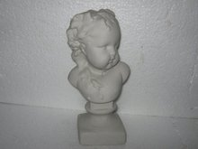 Child's Bust- Bisque Style Porcelain