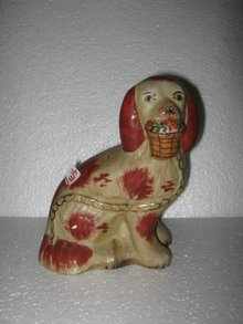 Porcelain Dog figure