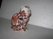 Porcelain Multicolored Cat