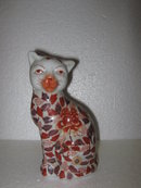 Porcelain Cat Figure- Copy of Imari