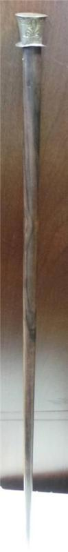 A English Timer Cane with Rosewood Shaft ca.1930