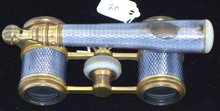 Continental Silver and Abalone Opera Glasses