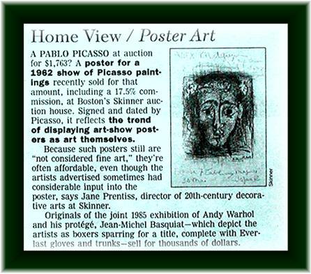 PICASSO * FRANCOISE GILOT  - Vintage Exhibition
