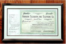 Extremely Rare * Hawaiian Telephone & Telegraph Co.
