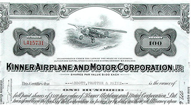 Kinner Airplane & Motor Corporation