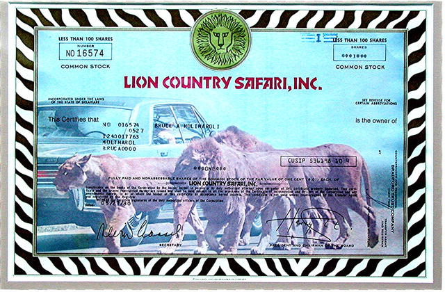 LION COUNTRY SAFARI