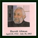HAROLD ALTMAN