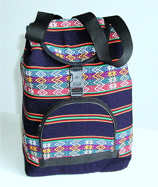 PERU.  Handcrafted Back Pack. Artisan Crafted