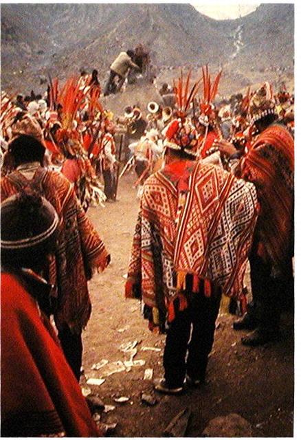 PERU.  Quechua . Sacred Cerimonial Chuspa