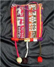 PERU.  Quechua . Chuspa