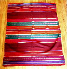 PERU.  Handwoven Cerimonial Leaders Mantle