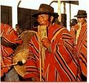 PERU.  Handwoven Cerimonial Leaders Mantle