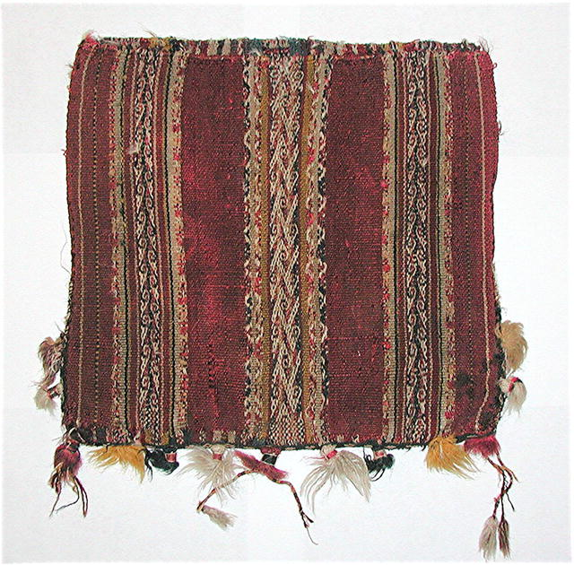 BOLIVIA.  19th Century  CeremonialTextile.