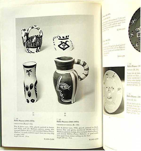 SOTHEBYS  19th & 20th Century Contemporay Art