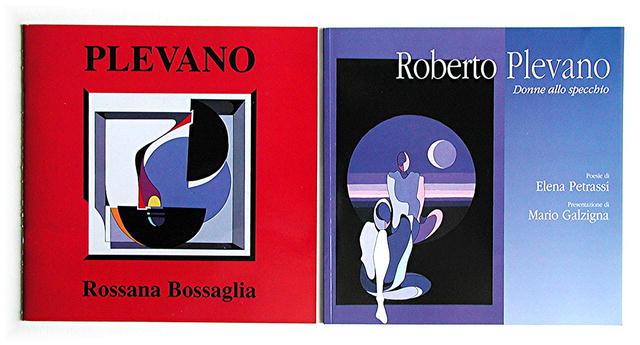 ROBERTO PLEVANO.  ITALY.  ORIGINAL PAINTINGS ON CANVAS