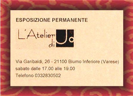 Luca Ghielmi  *  Master Studios.  Varese