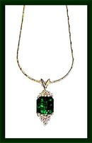 EMERALD 2.55  CARAT  COLOMBIAN *. DIAMOND