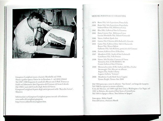 GIANPIERO CASTIGLIONI  *  Catalog