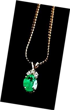 EMERALD 5.50 CARAT *  COLOMBIAN. Diamond