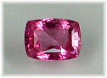 SAPPHIRE RING.  VIVID HOT PINK * CERTIFIED GEM