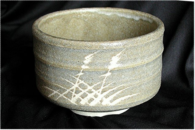 JAPAN  *  MINGEI Ceremonial Tea Bowl