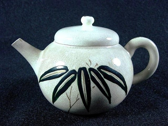 JAPAN  *  KYO Satsuma Tea Pot