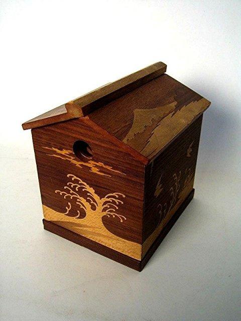 JAPAN  Vintage  Arts & Crafts, Sugi Wood Tabako