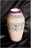 CZECH AMPHORA  Humming Bird  Series  &  2nd Series Vase Available