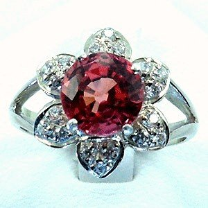 Strong  Orange Pink  w Red  Hue  Sapphire