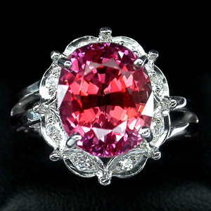 Sapphire, Deep Pink Orange