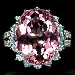 Morganite Fashion Rings Showcase , Sapphire, Topaz, Morganite,   2011 Hong Kong International Gem & Jewelry Show, From $ 109.